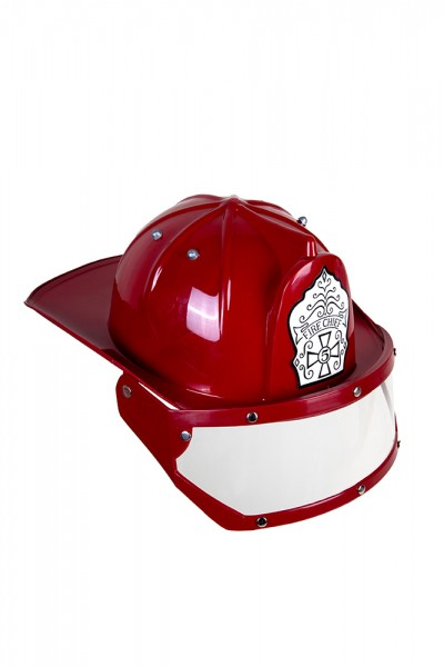 Feuerwehrhelm mit Visier englisch
