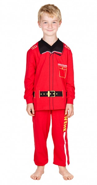Feuerwehr Pyjama