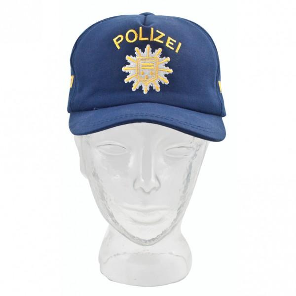 Polizei Basecap blau