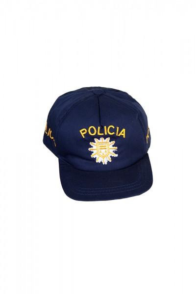 Policia Basecap blau