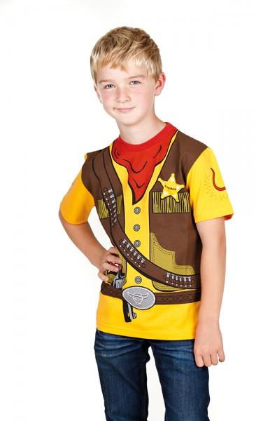 Sheriff T-Shirt - Größe 104